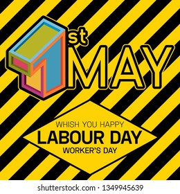 1 May. Worker's Day