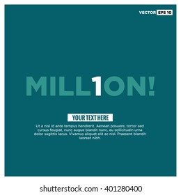 1 Million Page Layout Design Template