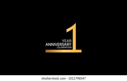 1st Anniversary Logo Images Stock Photos Vectors Shutterstock
