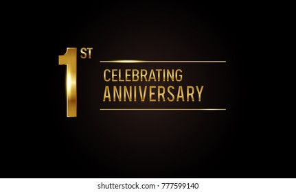 First anniversary images stock photos vectors shutterstock