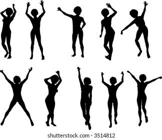 10 Female Dancers