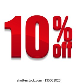 10 percent off digits
