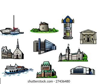 10 Quebec city points of interrest