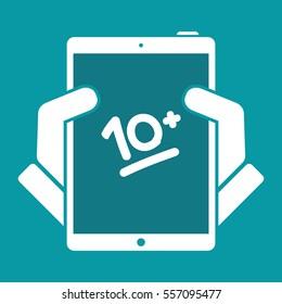 10+ result evalutation - Vector flat icon