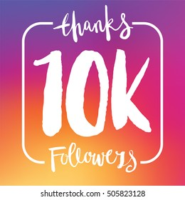10 Thousand followers online social media achievement