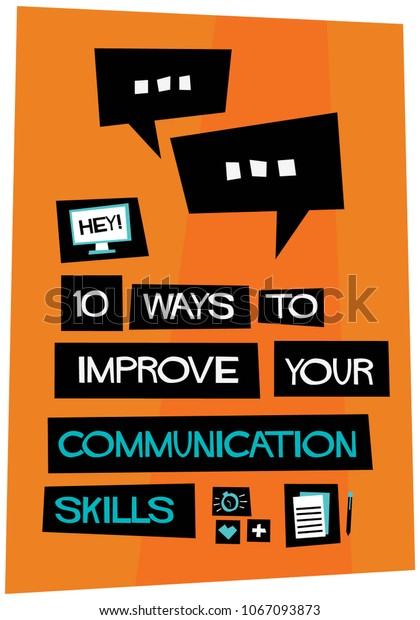 10 Ways To Improve Communication With >> 10 Ways Improve Your Communication Skills Stock Vector Royalty Free