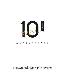10 Years anniversary design template
