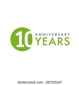 anniversary logo images stock photos vectors shutterstock