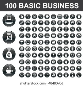 100 Basic Business Buttons