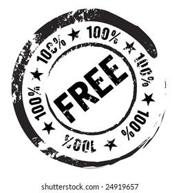 100% free stamp