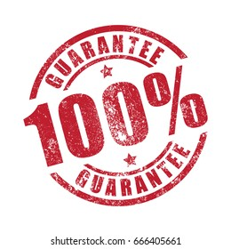100% Guarantee grunge stamp print