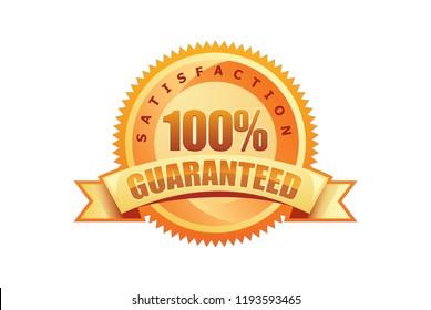 100% Guaranteed Badge