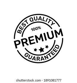 100% Guaranteed Premium Product Stamps of Best Quality Logo Design Vector