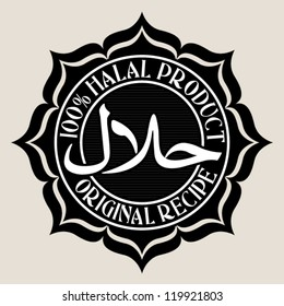 100% Halal Product / Original Recipe