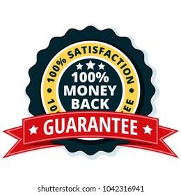 100% Money Back Guarantee illustration
