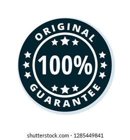 100% Original Guarantee label illustration