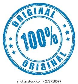 100 original vector stamp