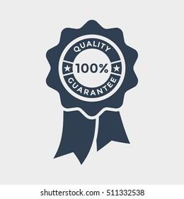 100% quality ribbon Icon