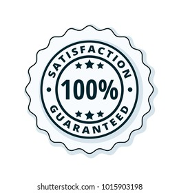 100% Satisfaction Guaranteed illustration