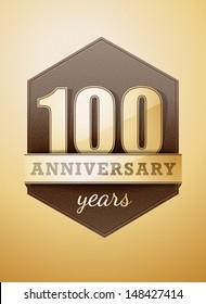 100 years anniversary birthday card