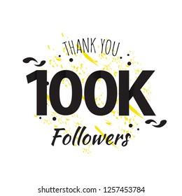 100K Thank You Followers