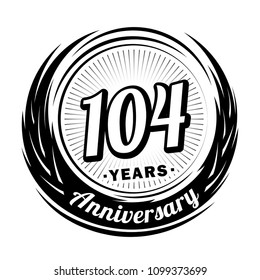 1000 104th birthday pictures royalty free images stock photos Over 100 Birthday 104 years anniversary anniversary logo design 104 years logo