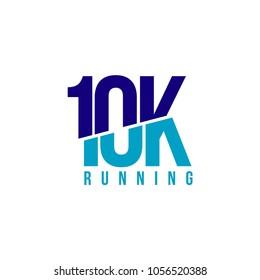 10K Running Vector Template Design