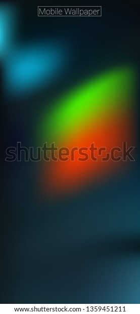 1125 X 2436 Wallpaper Hd Mobile Stock Vector Royalty Free