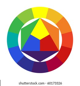12 color color wheel