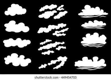 12 Sets of Clouds