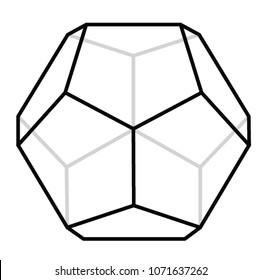 12 sided polygon