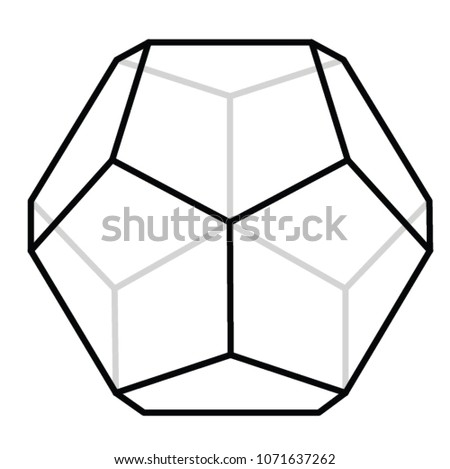 12 sided polygon stock vector royalty free 1071637262 shutterstock