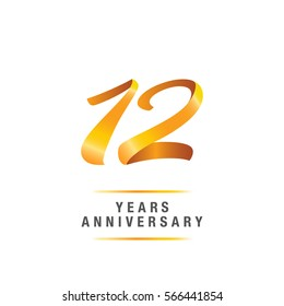 12th Anniversary Logo Images Stock Photos Vectors Shutterstock