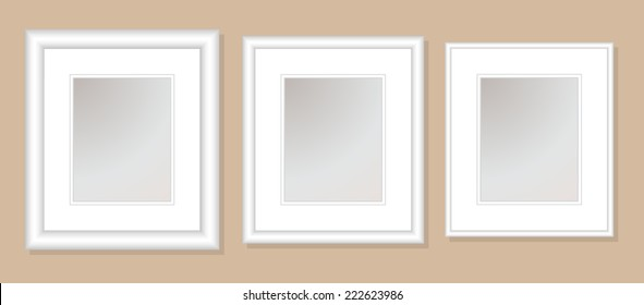 12x14  Double Mats & Frame for 8x10 Photo Art. 3 frame widths: .5, 1, & 1.5 inch. Fully customizable.