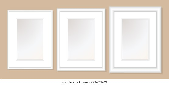 12x16  Double Mats & Frame for 8x12 Photo Art. 3 frame widths: .5, 1, & 1.5 inch. Fully customizable.