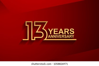 13th Wedding Anniversary Images Stock Photos Vectors