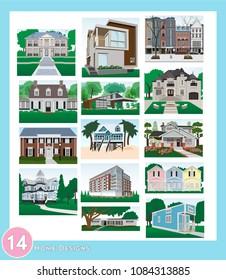 14 home designs