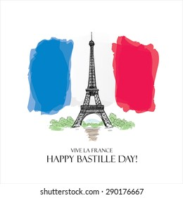 14 july. Happy Bastille Day!