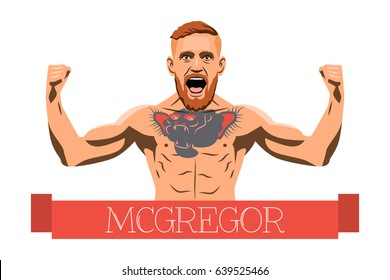 14 May, 2017. Famous Irish fighter mma Conor McGregor