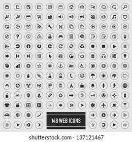 148 web icons