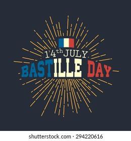 14th July,Happy Bastille Day background