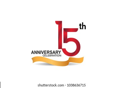 happy 15th anniversary images stock photos vectors shutterstock