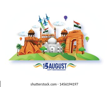 15th August india Happy Independence Day,