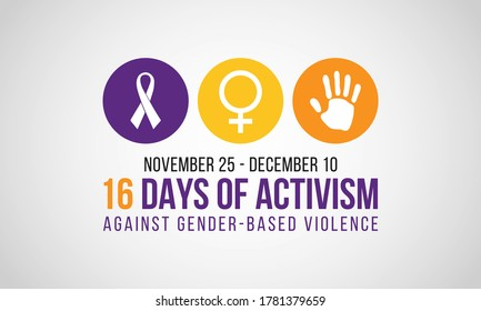 16 Days of Activism Against Gender-Based Violence is an international campaign to challenge violence against women and girls. The campaign runs every year from 25 November to 10 December.