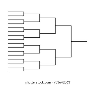 Playoff Brackets Template from image.shutterstock.com