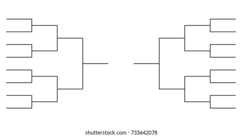 16 Team Tournament Bracket Templates