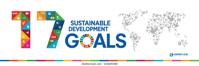 17 Sustainable Development Global Goals. Easy to use in Brochure, Annual, report, cover, Poster, templates, Book, magazine, publication, flyer, presentation,
