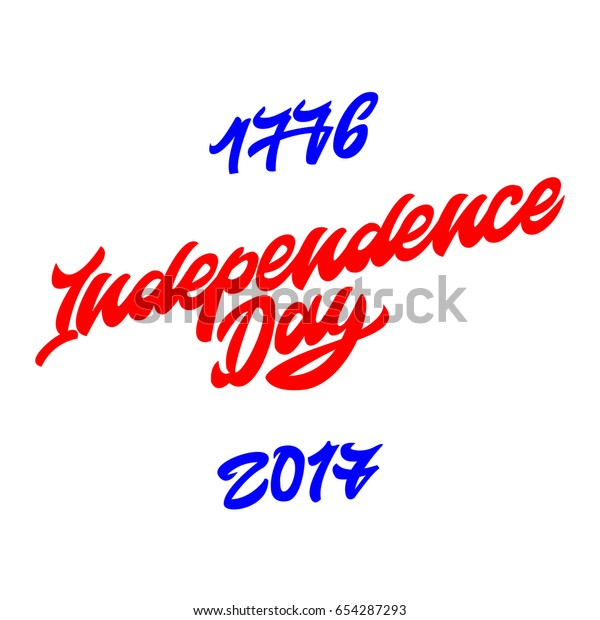 1776 Independence Day Since 2017 Premium Stock Vector (Royalty Free