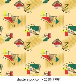 1950's Seamless Retro Pattern