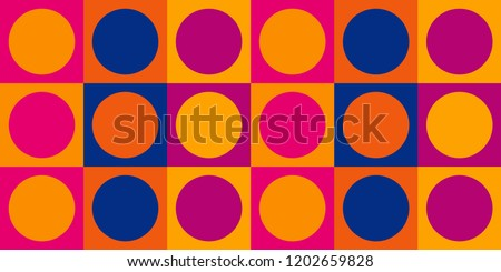 1960 S Mod Wallpaper Design Trippy Retro Stock Vector Royalty Free